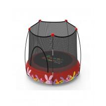 Cama Elástica + parque de juegos Kohala rojo