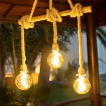 Lámpara Colgante sin cables, modelo Ilaria