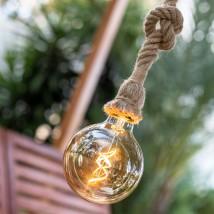 Lámpara Colgante sin cables, modelo Simona