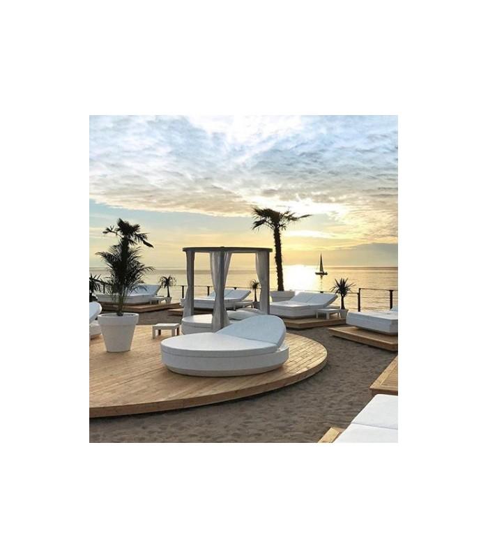 Oferta cama vela daybed reclinable for Camas balinesas para jardin