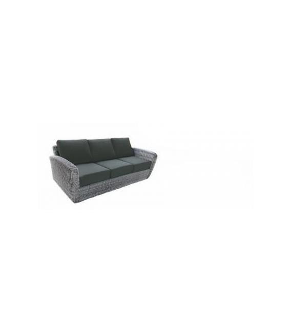 Rattan de color gris