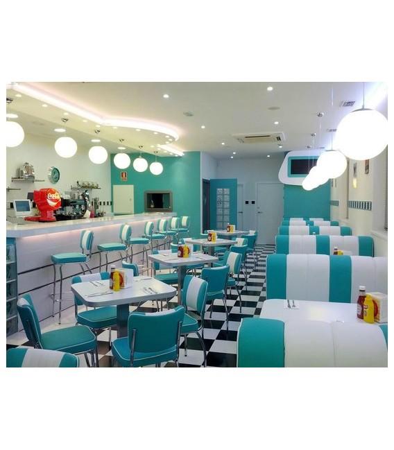 Sofá doble Dinner años 50