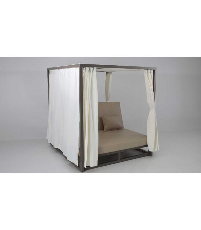 Cama balinesa modelo zanz bar gran cat logo en muebles for Camas balinesas para jardin