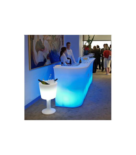 Cubitera iluminada light drink slide