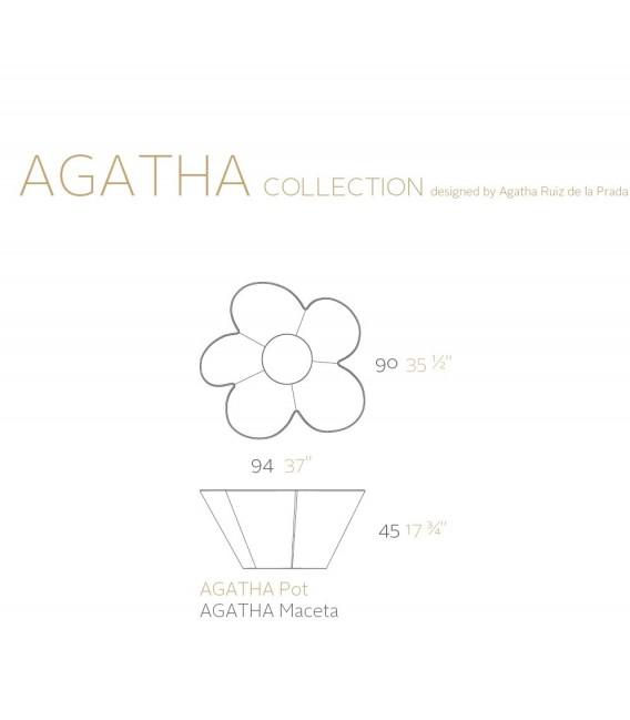 Macetero Agatha by Vondom