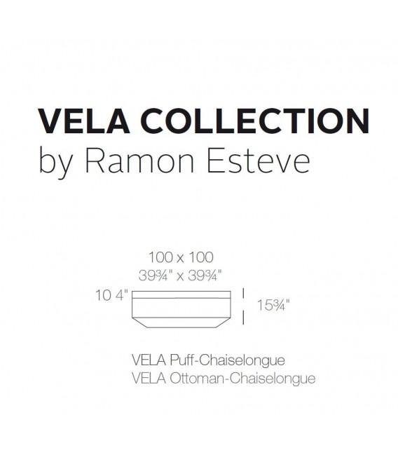 Puff o Chaiselongue  by Vondom