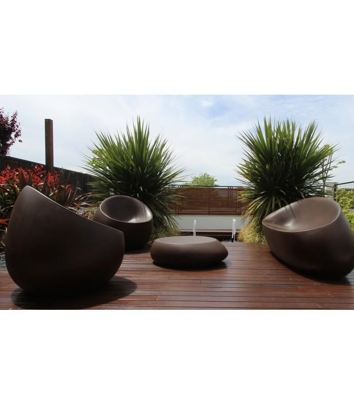 Oferta sill n stone dise ado por stefano giovannoni y for Butaca de jardin