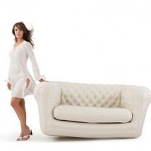 Sofá hinchable modelo Chester