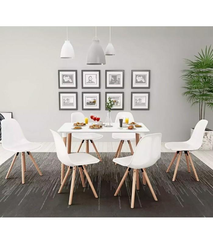 estilo nórdico mesas y sillas