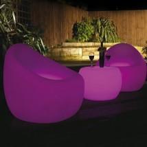 Espectacular sillón iluminado
