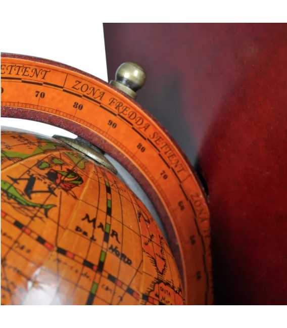 Sujetalibros mapa del Mundo