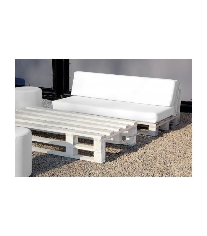 sof con estructura de palet