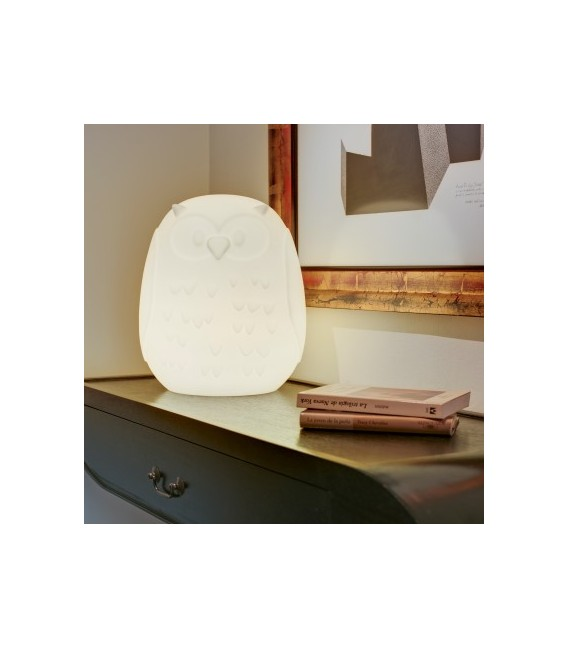 Lámpara con forma de búho