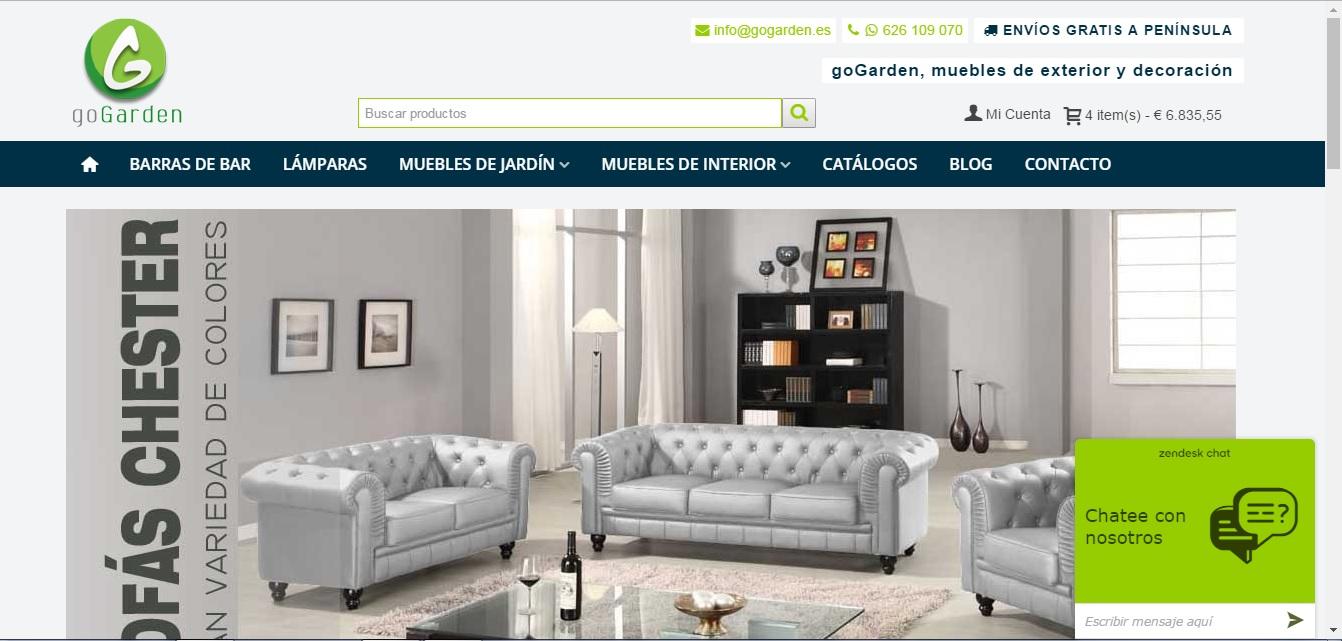 Gogarden Blog P Gina 2 De 2 Muebles De Jard N Y Decoraci N # Pequenos Gigantes Muebles
